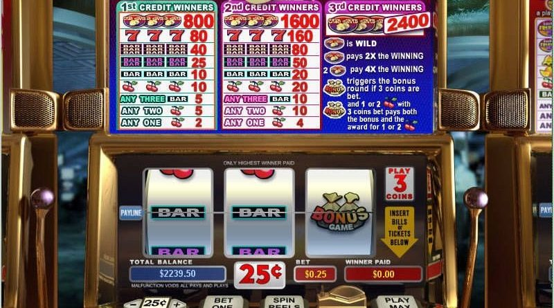 How To Play Online Slot Machines
